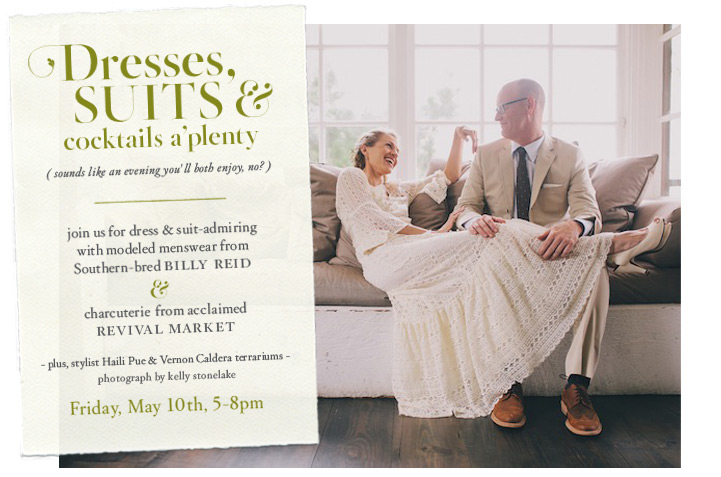 BHLDN and Billy Reid