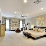 Master Bedroom designed by Vernon Caldera, LBRB Design.